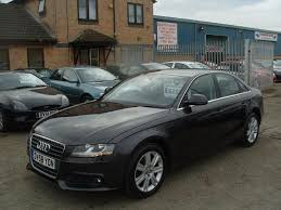 audi a4 used used grey audi a4 2009 petrol 1 8t fsi se 4dr saloon in