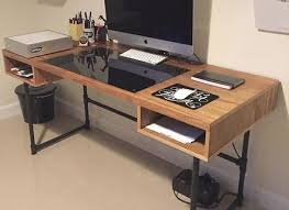 walker edison urban blend computer desk industrial desks eulanguages net