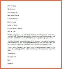 business letter format proper business letter format sampleformat