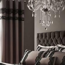 66 Inch Drop Curtains Mocha Eyelet Curtains Ebay
