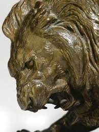 barye lion sculpture stunning lion serpent iii after cast sculpture by antoine louis