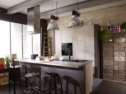 cuisine avec bar ouvert sur salon modele cuisine ouverte avec bar free cuisine avec lot central