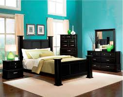 Wooden Bedroom Furniture Black Bedroom Furniture Set Attractive Black Floral Bedcover