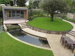Modern Backyard Ideas by Triyae Com U003d Modern Backyard Ideas Landscaping Various Design
