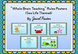 themed posters free sea themed whole brain teaching posters