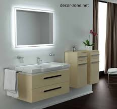 bathroom mirror and light cool modern storage a bathroom mirror