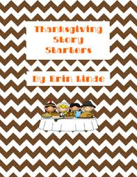 thanksgiving story starters by erin linde teachers pay teachers