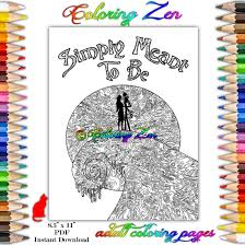 nightmare before christmas simply meant be coloring page for