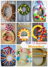summer wreath top 13 summer wreaths