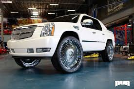 2001 cadillac escalade ext cadillac escalade ext dub s777 bellagio wheels chrome
