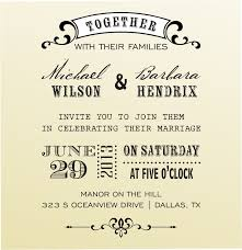 wedding invitations font special wedding invitation