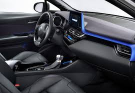 toyota harrier 2016 interior toyota reveals cockpit of new c hr crossover lowyat net cars