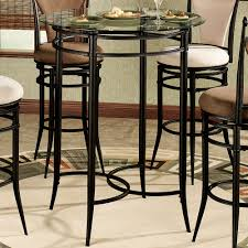 Outdoor Bar Table And Chairs Set Camira Cafe Bar Height Bistro Table And Chairs Set