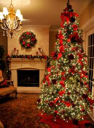 How To Decorate Your Home For Christmas How To Decorate Living Room For Christmas Party Table Idolza