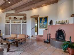 Southwest Living Room Furniture by Living Room With Sunken Living Room U0026 Terracotta Tile Floors