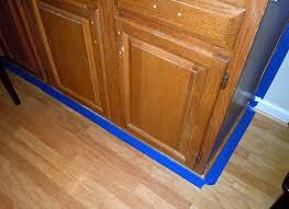 how to gel stain your kitchen cabinets