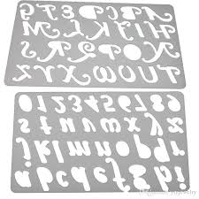 2017 capital letter alphabet metal cutting dies stencils for diy