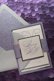 purple and silver wedding invitations purple gold wedding invitation gold glitter wedding invite