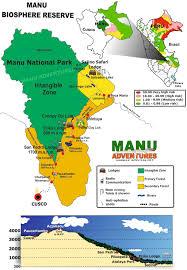 Peru On Map Manu Adventures Manu National Park Peru Jungle Trips