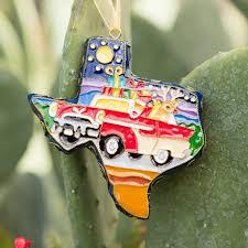 cloisonne ornament 2017 highways gift shop