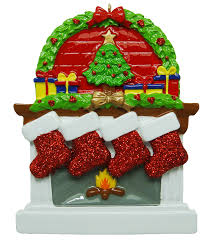 resin personalized christmas ornaments home decorating interior