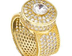 big male rings images Jewelry out bling zircon punk rer big cz hip jewelry women rings jpg