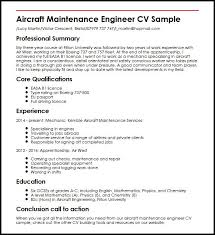 Maintenance Resume Examples by Unforgettable Aircraft Mechanic Resume Examples To Stand Out