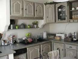 cuisine peinte en gris cuisine gris perle
