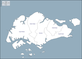 Blank Map Asia by Singapore Free Map Free Blank Map Free Outline Map Free Base