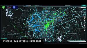 Ingress World Map ingress san antonio intel activity 4 17 13 4 23 13 youtube