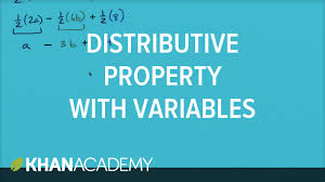 how to use the distributive property with variables 6th grade