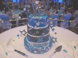 quinceanera cakes royal blue quinceanera decorations new sweet sixteen cake
