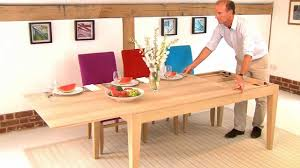 Large Wood Dining Room Table Large Extendable Table Youtube