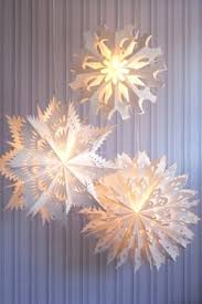 Paper Pendant Lights Snowflake Hanging Light With Pendant Lighting And 6 On Category