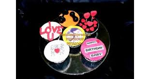 i love you cupcakes delivery noida cupcakes for beloved birthday