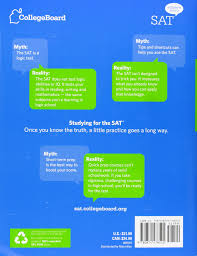 the official sat study guide official study guide for the new sat