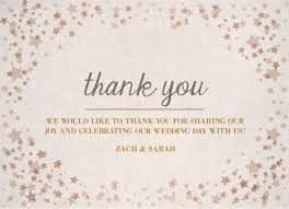 thank your guests for attending your wedding catprint digital