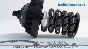 aqualisa thermostatic shower cartridge part no 022801 trading