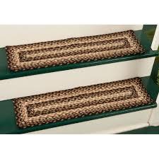 non slip braided stair treads latest door u0026 stair design