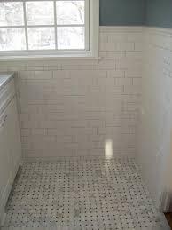 tile wainscoting bathroom tile wainscoting ideas ideas pinterest