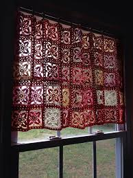 Crochet Kitchen Curtains by Ravelry Cafe Curtain Pattern By Nicki Trench With Zara Poole