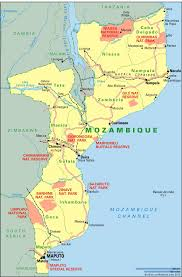 Mozambique Map Timber Rackets Gas Booms Article Africa Confidential