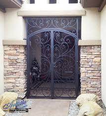 wrought iron security gate front door nucleus home doors tucson