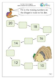 free worksheets ordering numbers to 20 worksheet free math