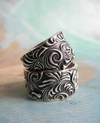 custom wedding bands custom wedding rings handmade silver wedding bands alternative