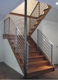 Staircase Handrail Design Iron Stair Railings Interior Stairs Design Ideas In Metal Handrail