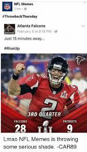 Atlanta Falcons Memes - nfl memes nfl throwbackthursday atlanta falcons february 5 at 919