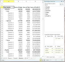 how to create a pivot table in excel 2010 make pivot table excel report pivot table excel 2007 tutorial