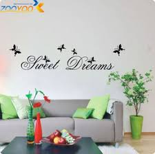 Quotes For Home Decor by Discount Sweet Dreams Wall Quotes 2017 Sweet Dreams Wall Sticker