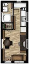 8 u0027 x 19 u0027 tiny house floor plans with loft above stairs or